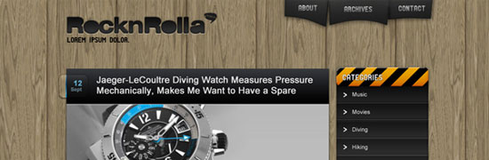 psdthemes-rocknrolla-blog-design