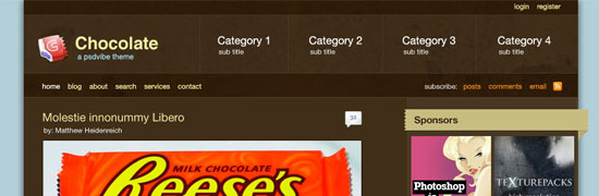 psdvibe-chocolate-wordpress-theme